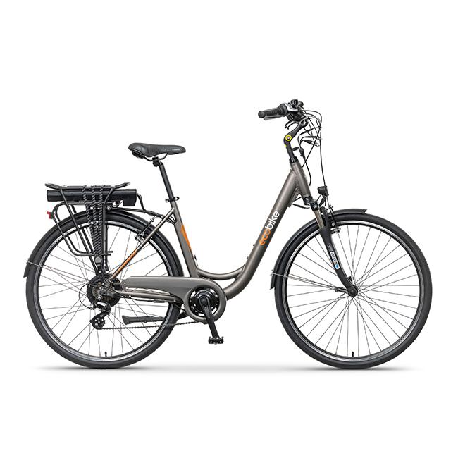 Rower Elektryczny ecobike city L grey pro 28