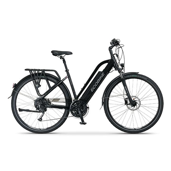 Rower Elektryczny ecobike s-cross l black 19″