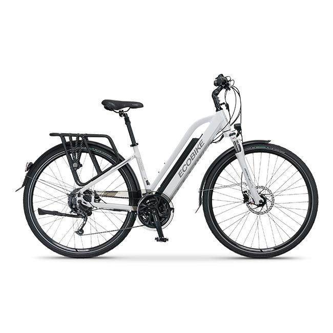 Rower Elektryczny ecobike s-cross l white 17″