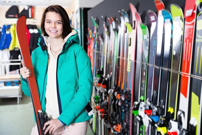 wybieranie nart