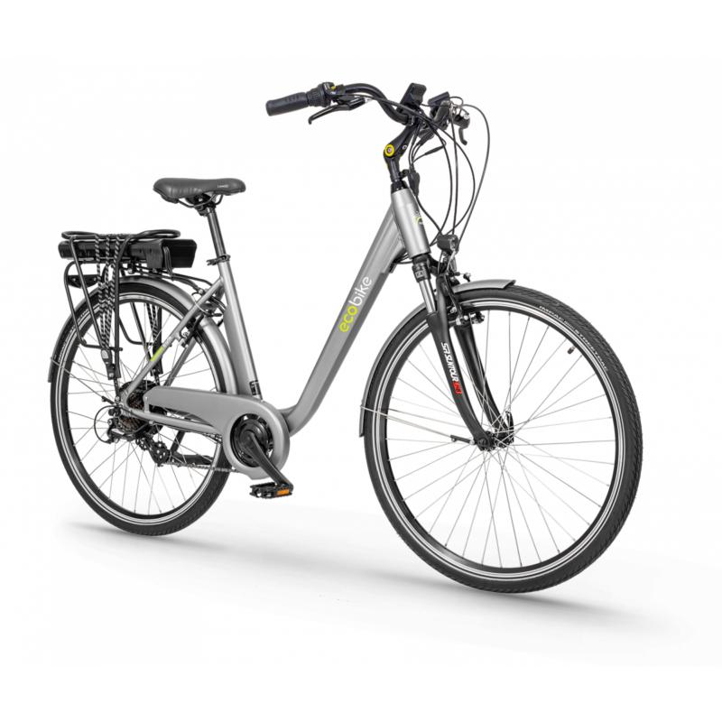 Rower elektryczny Trafik Grey PRO 28″ (Bateria 13Ah)