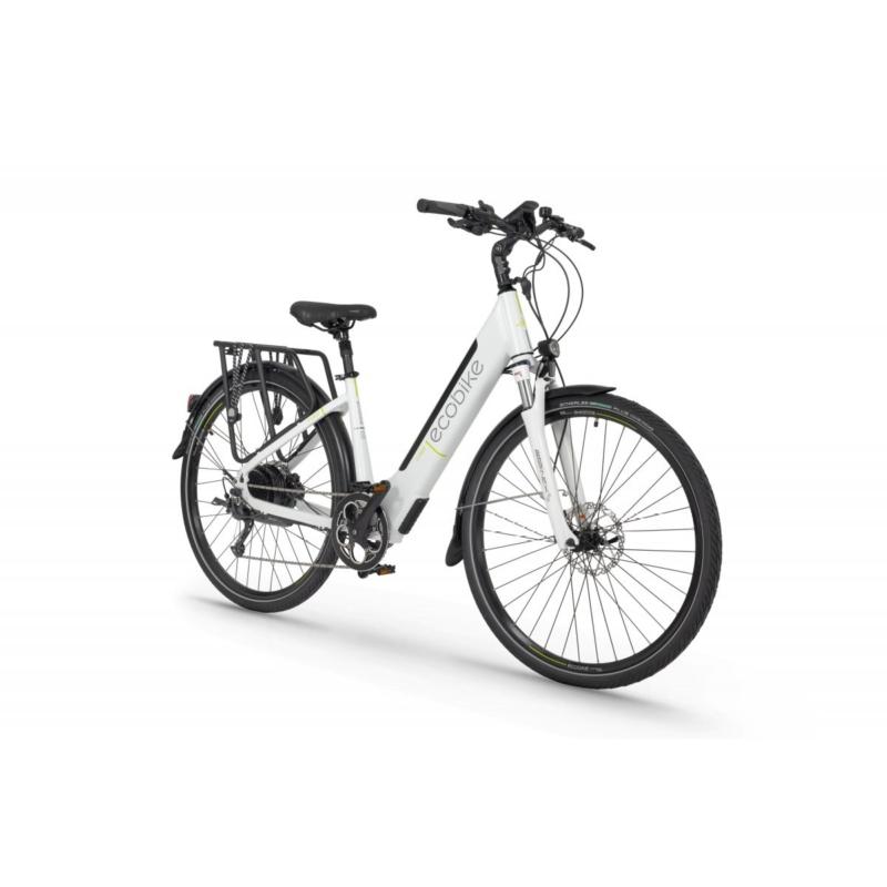 Rower elektryczny EcoBike X-Cross White 17″