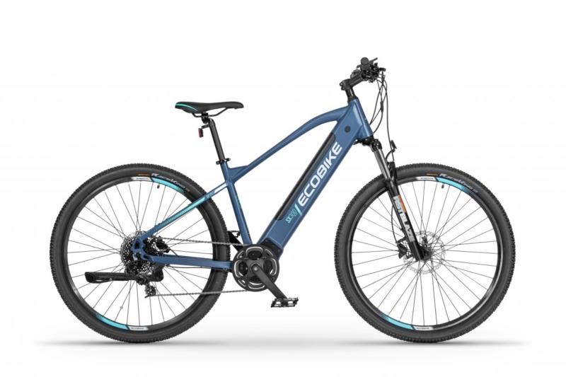 Rower elektryczny EcoBike SX300 BLUE 18″